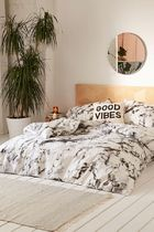 Urban Outfitters Unisex Pillowcases Comforter Covers Black & White