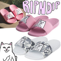 RIPNDIP Camouflage Open Toe Rubber Sole Casual Style Unisex