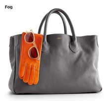 marc AND graham Plain Leather Office Style Totes