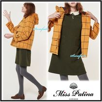Miss Patina Short Other Check Patterns Wool Duffle Coats