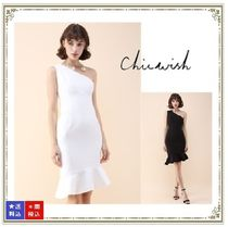 Chicwish Tight Sleeveless Plain Medium Dresses