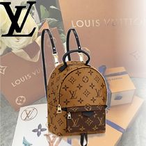 Louis Vuitton MONOGRAM MONOGRAM PALM SPRINGS BACKPACK MINI