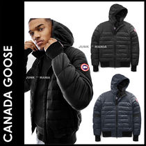 CANADA GOOSE Short Plain Down Jackets