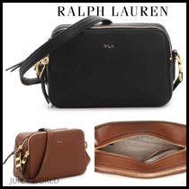 Ralph Lauren Casual Style Plain Leather Shoulder Bags