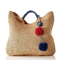 marc AND graham Plain Straw Bags