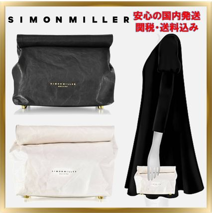 Casual Style Unisex Plain Leather Home Party Ideas Bags
