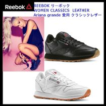 Reebok CLASSIC LEATHER Casual Style Unisex Street Style Plain Leather
