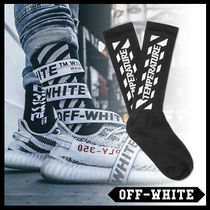 Off-White Street Style Plain Cotton Undershirts & Socks