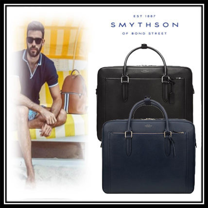 Plain Leather Business & Briefcases