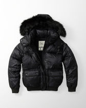 Abercrombie & Fitch Short Plain Down Jackets