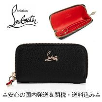 Christian Louboutin Unisex Plain Leather Keychains & Holders