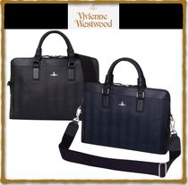 Vivienne Westwood A4 PVC Clothing Business & Briefcases