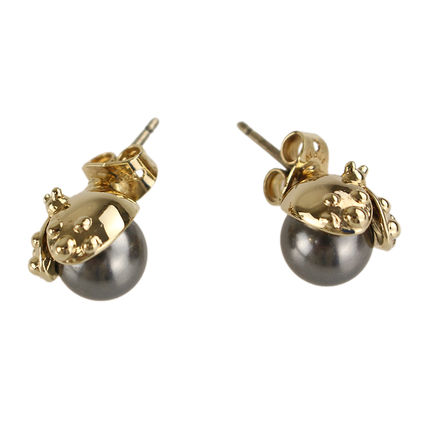 Costume Jewelry Brass Elegant Style Earrings & Piercings