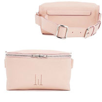 Golden Goose Street Style Plain Leather Party Style Bags