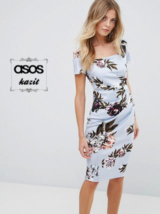 Asos Dresses Flower Patterns Casual Style