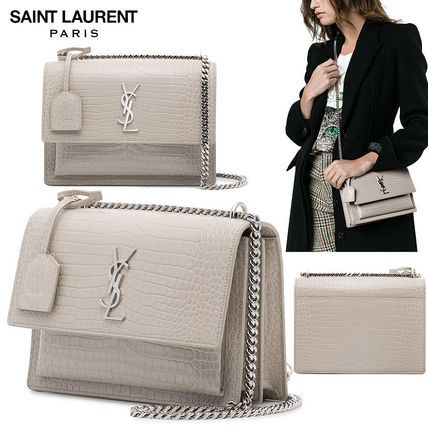 418e7afc Saint Laurent SUNSET 2018 SS Shoulder Bags (442906DND0N)