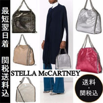 Stella McCartney FALABELLA Faux Fur 2WAY Chain Plain Elegant Style Totes