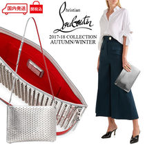 Christian Louboutin Other Check Patterns 2WAY Leather Clutches