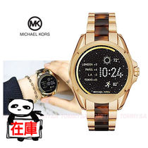 Michael Kors Casual Style Round Quartz Watches Stainless Digital Watches