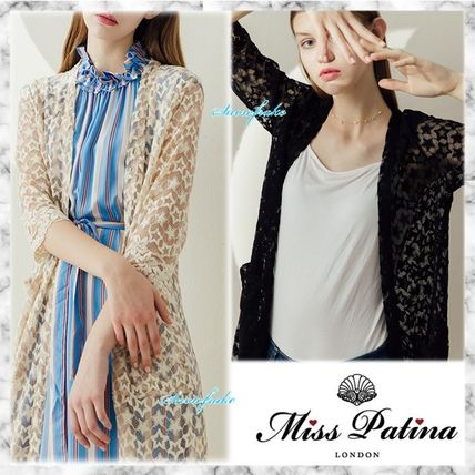 Star Cotton Long Cardigans