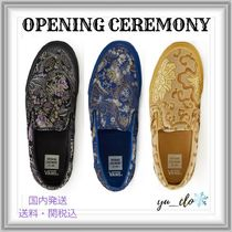 OPENING CEREMONY Flower Patterns Rubber Sole Collaboration Slip-On Shoes