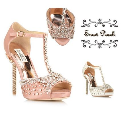Open Toe Pin Heels Party Style Shoes