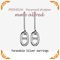 HERMES Casual Style Silver Earrings & Piercings