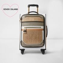 River Island Unisex 1-3 Days Soft Type Luggage & Travel Bags