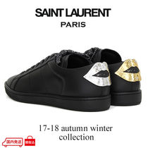 Saint Laurent Other Check Patterns Sneakers