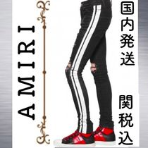 AMIRI Stripes Street Style Collaboration Jeans & Denim