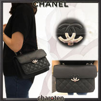 3bd41968b34b CHANEL 2018 SS Black SHW Lambskin Urban Companion Small Flap Bag by  charoten - BUYMA