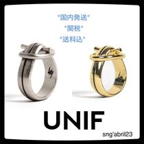 UNIF Clothing Costume Jewelry Casual Style Unisex Street Style Silver