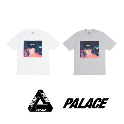 Palace Skateboards More T-Shirts Unisex Street Style Cotton T-Shirts
