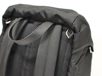 fbd0d54e2a65 official store prada backpack v135 black guy fb8c5 eac7a