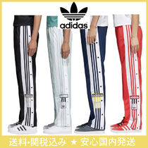 adidas Stripes Casual Style Pants