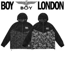 BOY LONDON Unisex Street Style Other Animal Patterns Medium Outerwear