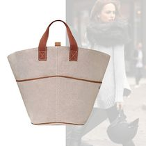 HERMES Casual Style Cambus Plain Totes