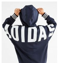 adidas SUPERSTAR Casual Style Unisex Street Style Long Sleeves Plain Cotton