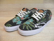 VANS AUTHENTIC Flower Patterns Tropical Patterns Sneakers
