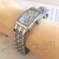 Hamilton Metal Square Quartz Watches Elegant Style Analog Watches
