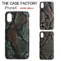 THE CASE FACTORY Unisex Leather Handmade Python Smart Phone Cases