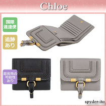 Chloe Marcie Leather Folding Wallets