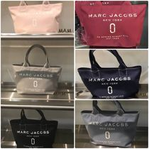MARC JACOBS Canvas A4 Plain Office Style Totes
