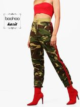 boohoo Camouflage Casual Style Sweat Sweatpants