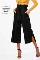 boohoo Casual Style Medium Culottes & Gaucho Pants