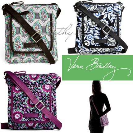 Stripes Paisley Casual Style 2WAY Shoulder Bags