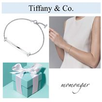 Tiffany & Co Tiffany T Costume Jewelry Casual Style Silver Bracelets