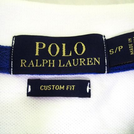 Ralph Lauren Polos Pullovers Plain Cotton Short Sleeves Polos 14