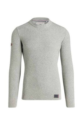 Superdry Knits & Sweaters Crew Neck Pullovers Street Style Long Sleeves Plain Cotton