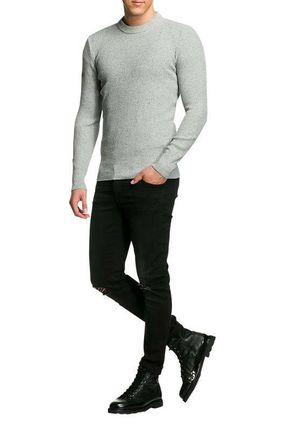 Superdry Knits & Sweaters Crew Neck Pullovers Street Style Long Sleeves Plain Cotton 2
